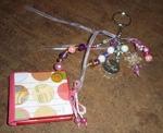 Micro mini porte clefs ou bijou de sac