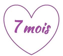 7 mois... Bon anniversaire la Boulette