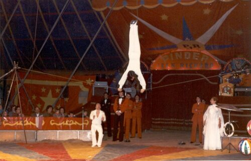 au cirque Pinder Jean Richard