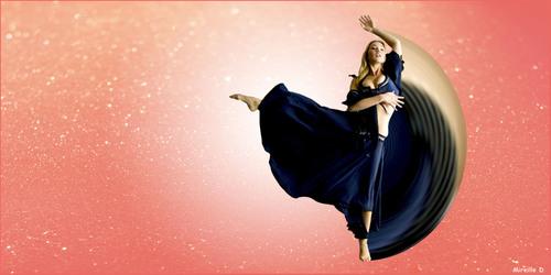 Danseuse Effet Strech (Photomontage)