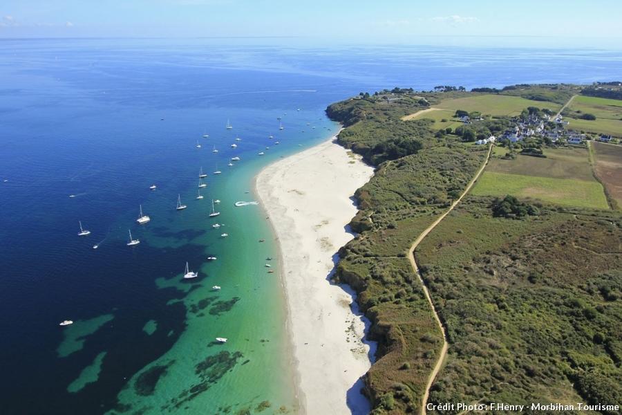 Ile du Groix - la plage des Grands Sables