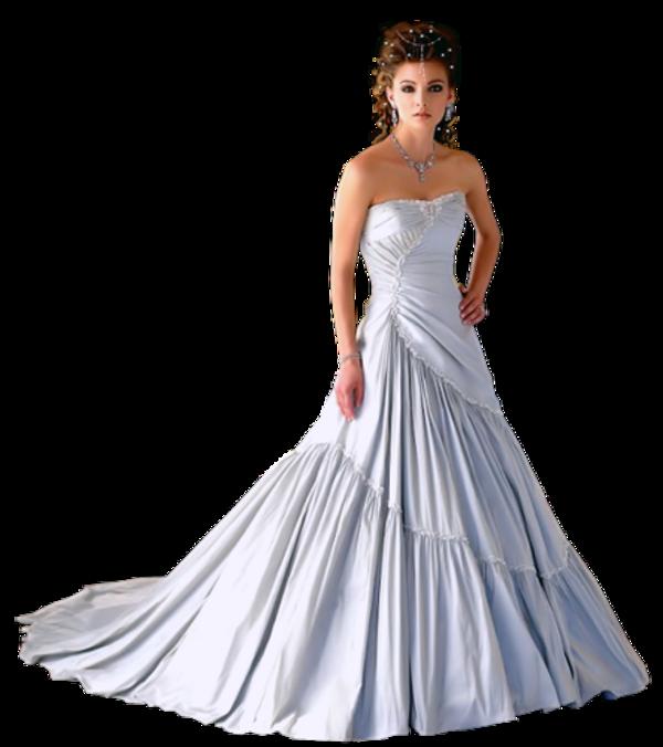 Femme en robe de mariée 5
