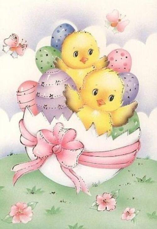 10 Images et gifs de Pâques