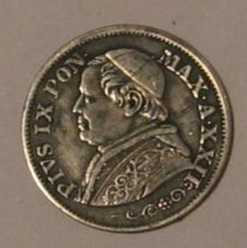 10 soldi 1868 avers