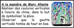 A la manière de Marc Allante avec Loup