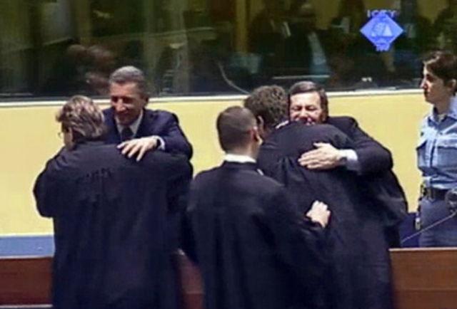 Les «héros» croates Gotovina et Markac acquittés en appel