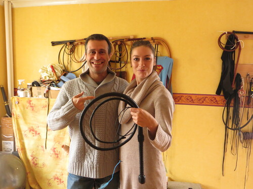 Sylviat Rosat!!! Leather Whipmaking Workshop with Docwhip.....