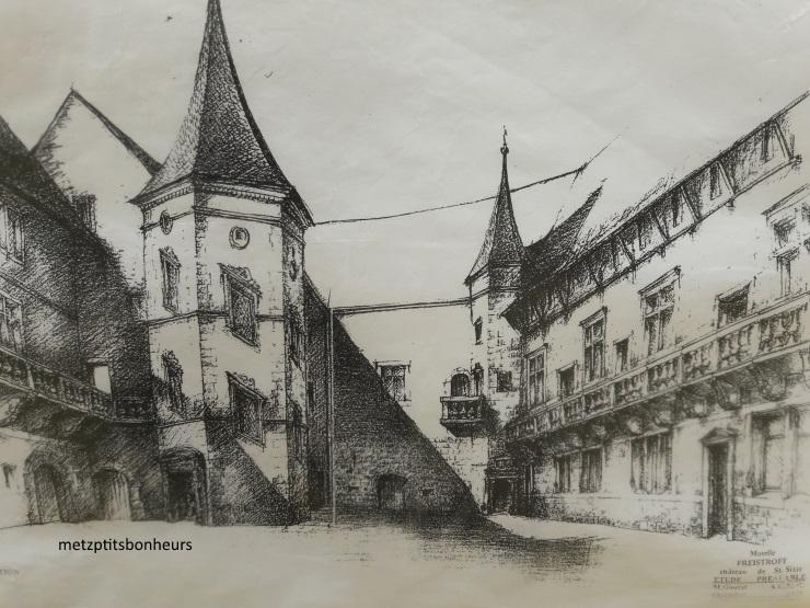 Le château Saint-Sixte...