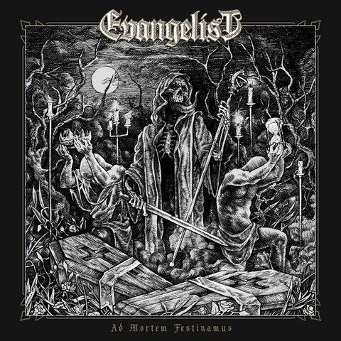 EVANGELIST - Détails et extrait du nouvel album Ad Mortem Festinamus