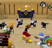 Kingdom Hearts I&II PS2 gameplay