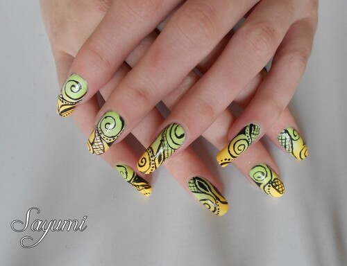 Nail Art Tatouage Estival