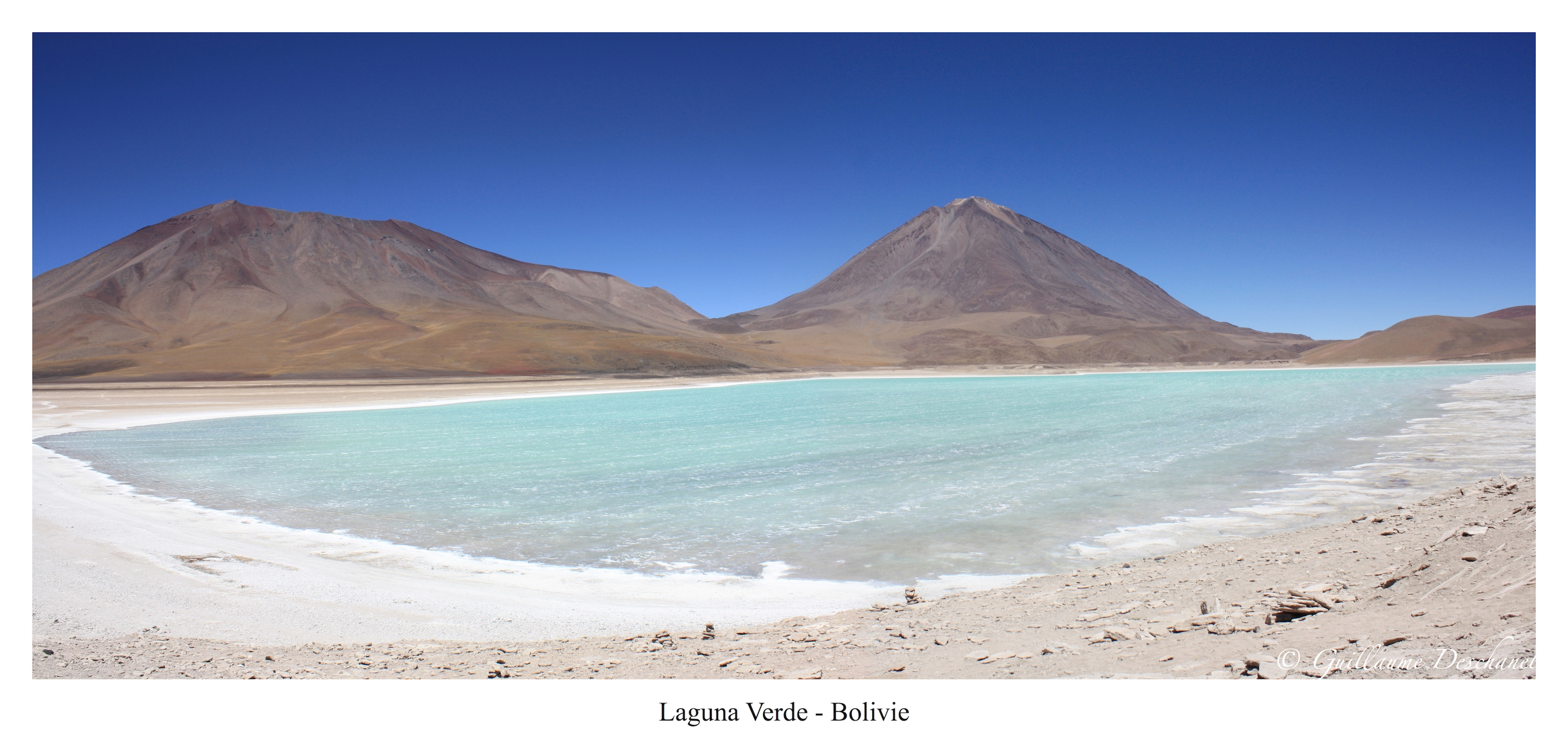 Panoramique 4 - Laguna Verde - Bolivie - copie