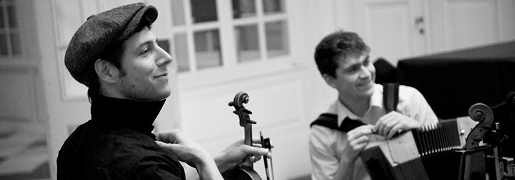 Soirée folk avec le duo «I Fratelli Tarzanelli», à Beloeil
