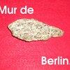 Morceau du mut de Berlin