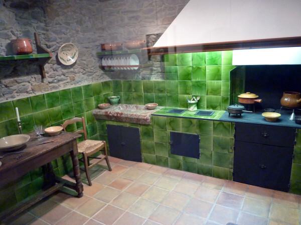 Banyuls - Musée Maillol La cuisine