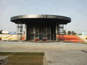 MDNA Tour Stage