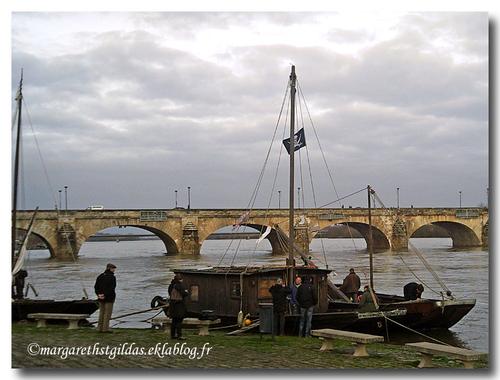 Bateaux sur la Loire - Boats on the Loire