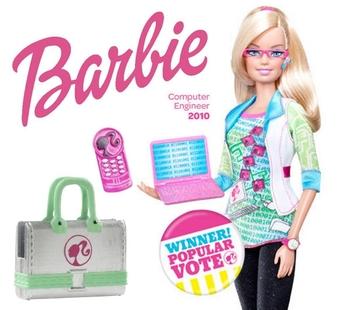 Barbie, le génie de l'informatique!