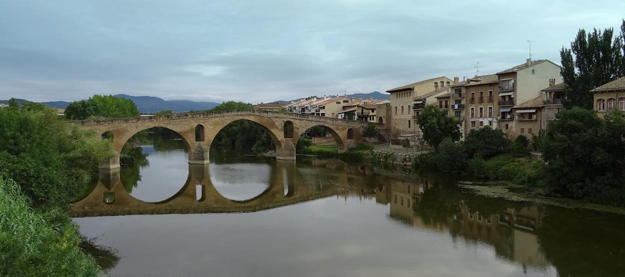 Le 21 juillet: d'Uterga au monastère cistérien Santa maria de José, 20,2 Km