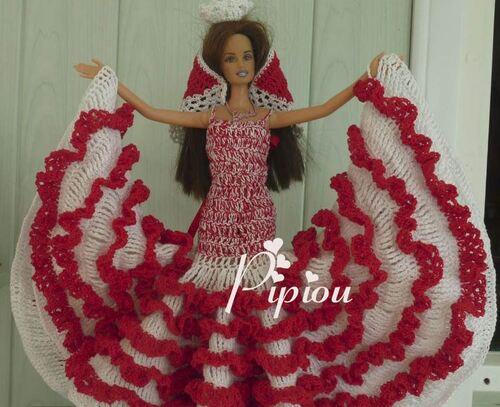 Mes créations pour Barbie (4)