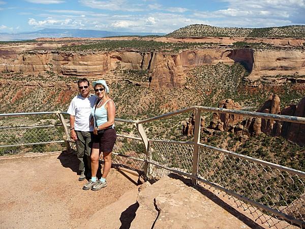 Jour 3 Colorado National Monument Ute Canyon Nous 2b