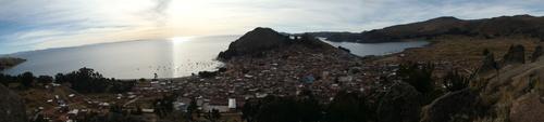 Copacabana et l'île du soleil