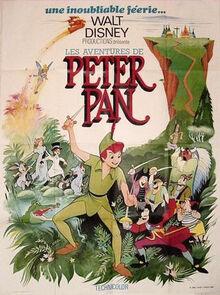 PETER PAN AFFICHE FRANCAISE 1977