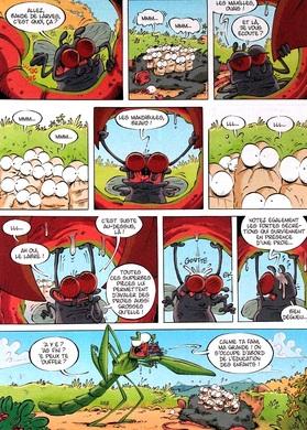 """Les insectes en BD T.4 """"BD"""""""