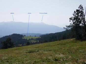 Panorama vers l'Est
