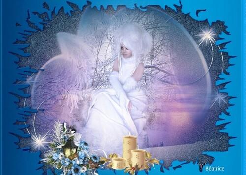 défi Beauty ''une journée en hiver''