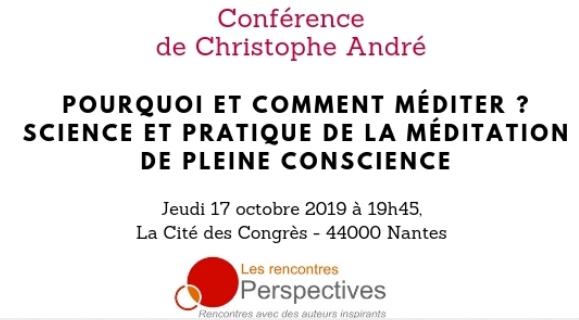 Christophe André à Nantes !