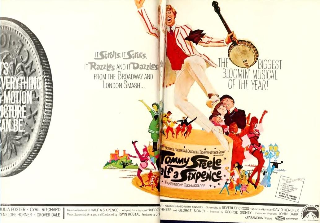 BOX OFFICE USA DU 20 FEVRIER 1968 AU 26 FEVRIER 1968