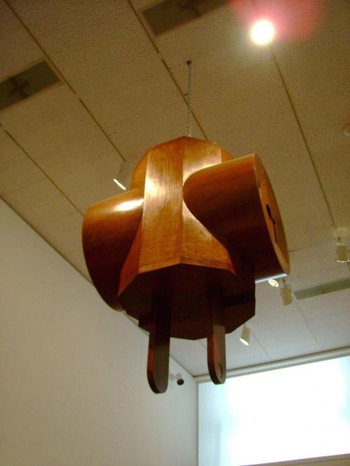 prise  de courant  suspendue  ( en bois)