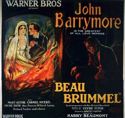 BEAU BRUMMEL- BOX OFFICE 1924