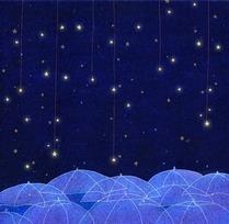 Image de night, stars, and sky