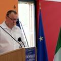 Jean-Luc Pigné lit le discours d'Edwige Duthil, indisponible