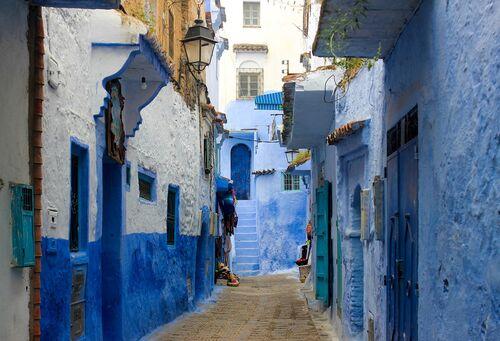 Le village peint en bleu de Chefchaouen