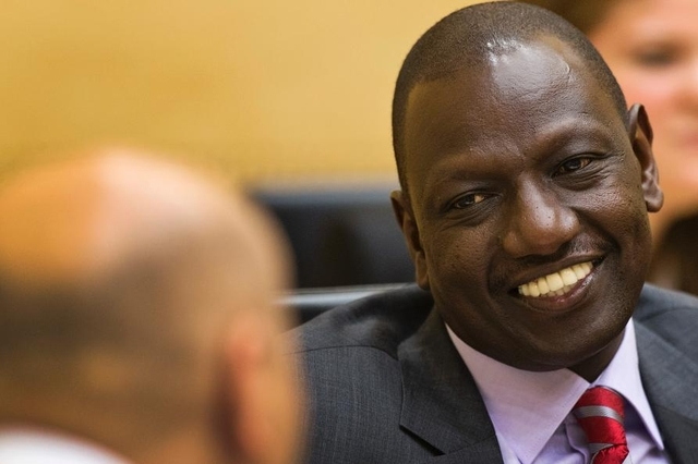 William Ruto plaide non coupable devant la CPI