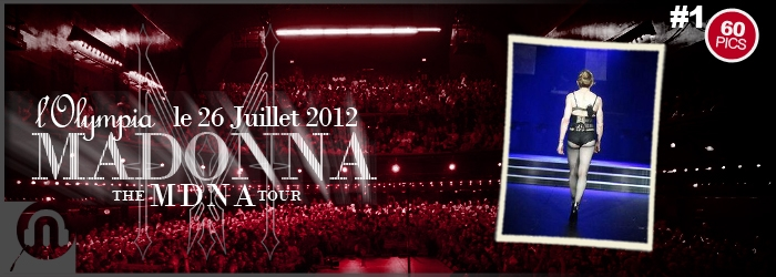 The MDNA Tour - Paris Olympia - Pictures 1