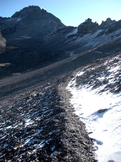 Le Pic de Rochebrune (3320 m)