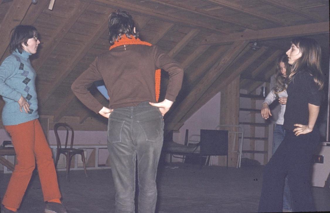 danses folkloriques à Landersen - Metzeral