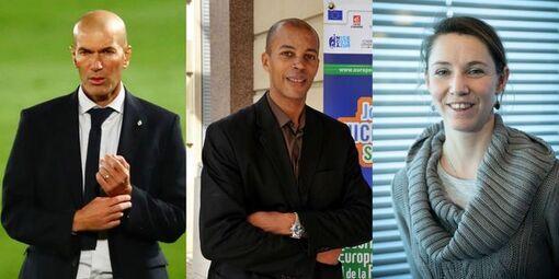 Zinédine Zidane, Stéphane Diagana, Marie-Amélie Le Fur