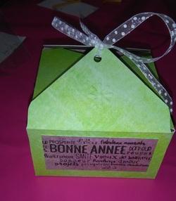 Atelier boites de chocolats du 10/12