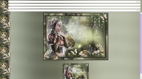 Papier Fantasy Elfe 04