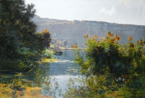 Emile Isenbart, peintre paysagiste comtois