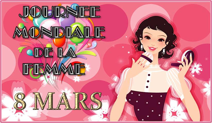 Cartes 8 Mars