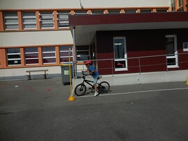 Permis cycliste en poche