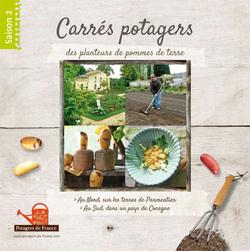 """A découvrir le livre : """"Carrés potagers des planteurs de pommes de terre"""" - Saison 2"""