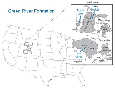 Green River Form Map