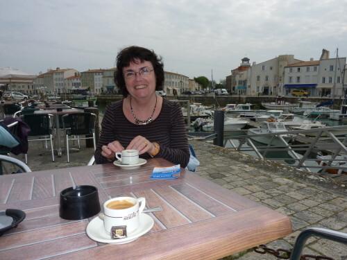Saint-Martin moi au café